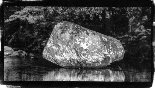 White boulder